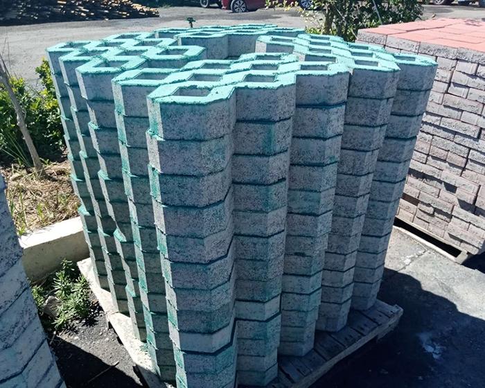 水泥植草砖